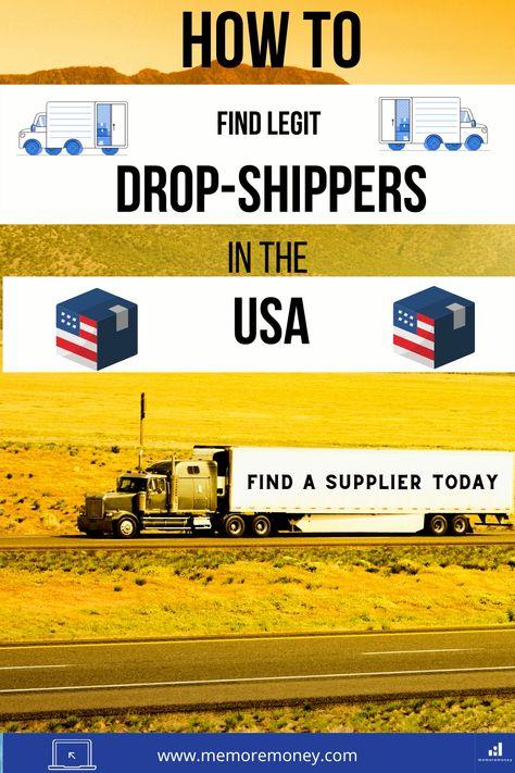 Find legit USA suppliers today
