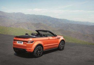 Land Rover Finally Removes The Top With The Evoque Cabriolet Range Rover Evoque Range Rover New Range Rover Evoque