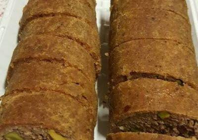 كبة مبرومة من أكلات سورية المشهورة Food Meatloaf Bread