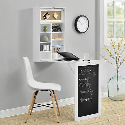 Tavolo Da Parete Richiudibile In Mensola.En Casa Wandtisch Weiss Schreibtisch Tisch Regal Wand Klapptisch
