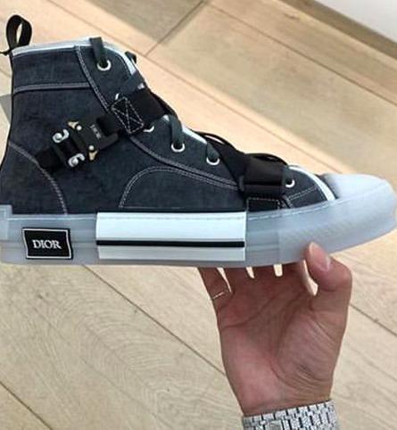 Dior and Alyx Studio High Top Sneaker