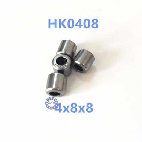 10 PCS HK0306 3x6.5x6 mm Needle Roller Bearing Bearings 3*6.5*6