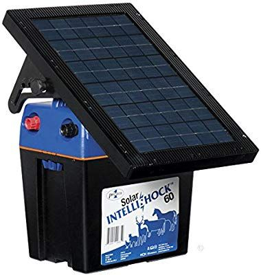 Amazon Com Premier Solar Intellishock 60 Fence Energizer Garden Outdoor Solar Panels Solar Best Solar Panels