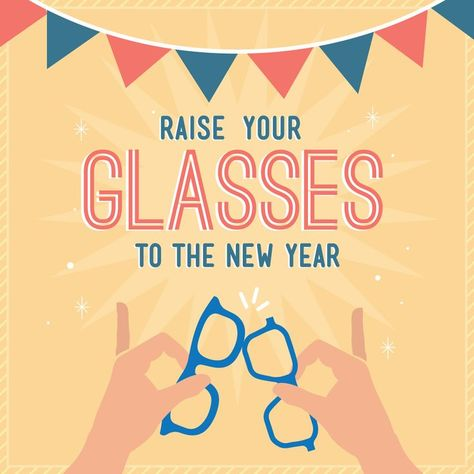 NEW YEAR, NEW YOU! Get the look of 2017 with some new frames! #frames #Year