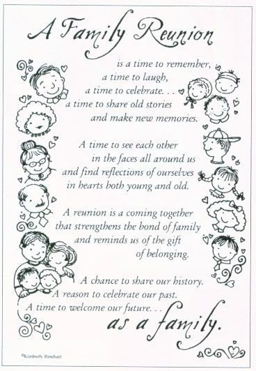 Family Reunion Verse Sticker Sheet, Supplies and Gifts at Genealogy Today