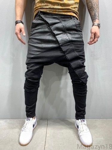 New Premium Spodnie Baggy Czarne 5179 Magazyn18 Baggy Pants Boy Fashion