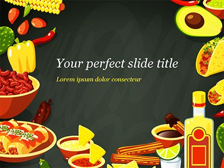 Mexican Food Powerpoint Template 15396 Food Beverage Poweredtempla Background For Powerpoint Presentation Presentation Slides Design Powerpoint Templates