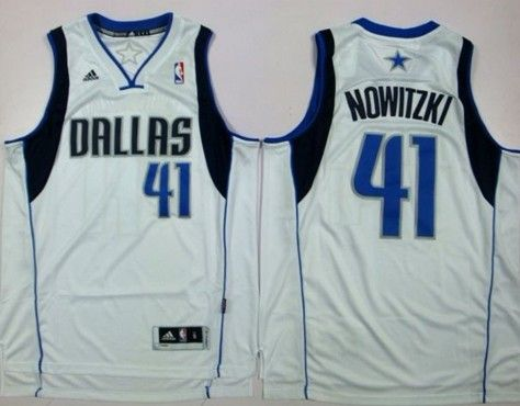 finest selection 14e4a fcf16 Dallas Mavericks #41 Dirk Nowitzki Revolution 30 Swingman ...
