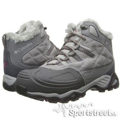 Columbia SILCOX II W GREY dámska zimná obuv  fa46c11382