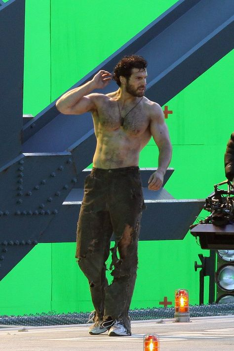 I never liked men with hairy chests, then along came Henry Cavill and Chris Evans I must say they would be a perfect tag team.to hell with the tag, they would be just a great trio after adding Chris Hemsworth.