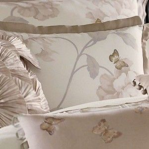 Lenox Butterfly Meadow Queen Comforter Set, Taupe | Stuff To Buy |  Pinterest | Queen Comforter Sets, Comforter And Taupe