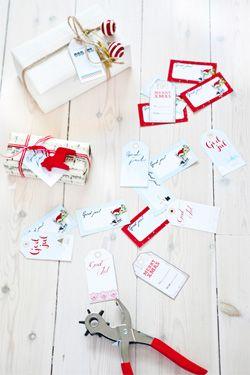 Christmas tags, free download