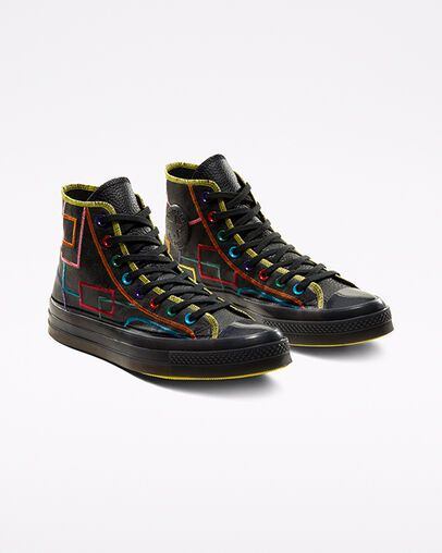 Chinese New Year Pro Leather Unisex High Top Shoe Converse Com In 2020 Purcell Jack Purcell Custom Boots