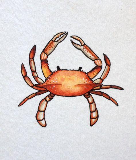 Crab Painting