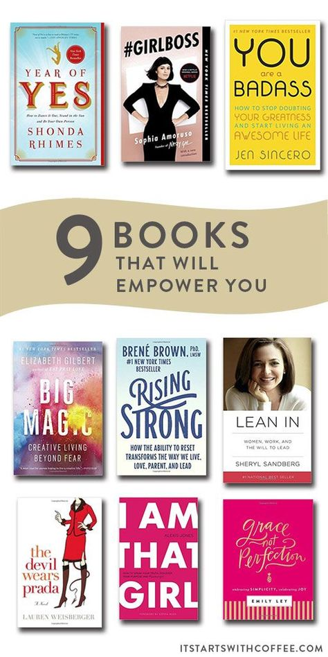 9 Books To Empower You - It Starts With Coffee - Blog by Neely Moldovan - Lifestyle, Beauty, Parenting, Fitness, Travel