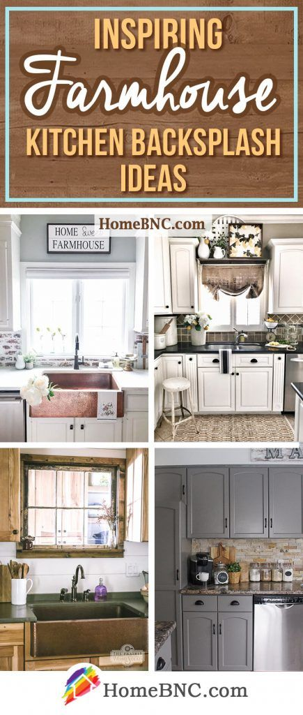 8 Unique Farmhouse Kitchen Backsplash Ideas That Will Set Your Kitchen Apart Country Kitchen Backsplash Farmhouse Kitchen Backsplash Rustic Kitchen Backsplash