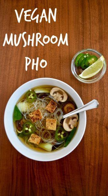 Vegan Pho Style Soup