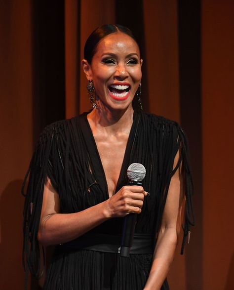 Actress Jada Pinkett Smith hosts a 'Girls Trip' Atlanta special screening.