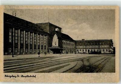 39034549 Koenigsberg Hauptbahnhof In Koenigsberg Kaliningrad Gelaufen 1942 Eur 8 98 Picclick De In 2020 Hauptbahnhof Ostpreussen Bahnhof