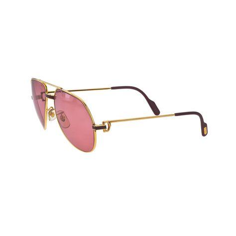 9cd41a7a5d Vintage Cartier RED Laque De Chine Sunglasses