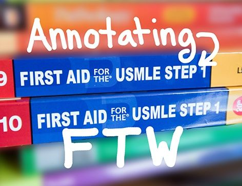 Three Ways to Get Ahead with First Aid for USMLE Step 1 | Crush Your