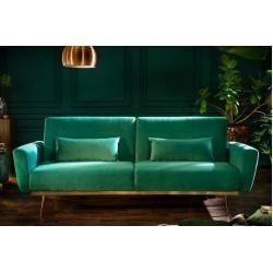 Retro Schlafsofa Bellezza 208cm Smaragdgrun Samt 3 Sitzer Couch Inkl Kissen Riess Ambiente In 2020 Couch Design Furniture Couch