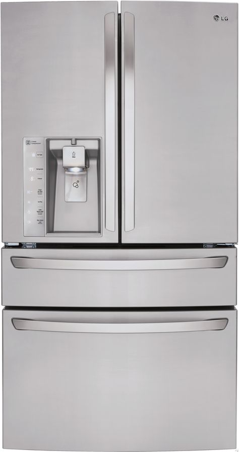Lg Lmxs30746s 36 Inch French Door Refrigerator With 30 0 Cu Ft
