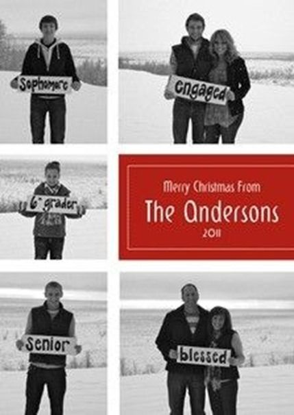 Creative ideas for your Christmas photo or photo card (Day 19 of 31 days to take the Stress out of Christmas) – The Frugal Homemaker