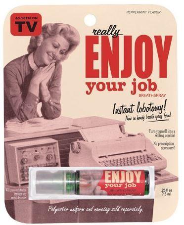 Amazon Oddities 3/1/17 -- Enjoy Your Job Breath Spray http://www.mashupmom.com/amazon-oddities-3117-enjoy-job-breath-spray/