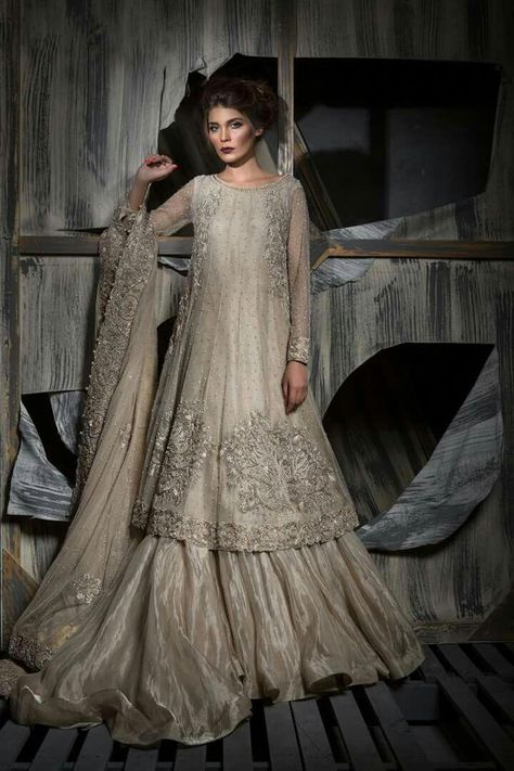 A elegant and intricately hand worked outfit, perfect for the upcoming wedding season