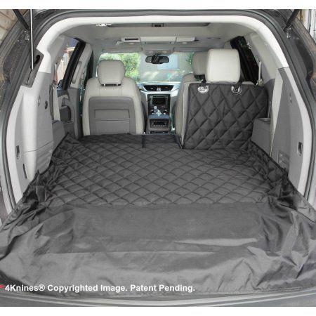 4knines Split Suv Dog Cargo Liner Black X Large Pet Car Seat