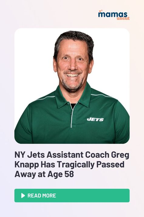 Greg Knapp, assistant coach for the New York Jets, has tragically passed away at the age of 58 following a biking accident in Northern California.