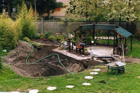 Parlons Bonsai - Un bassin dans un jardin japonais en photo | Pond ...