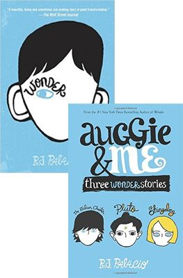 Combo R J Palacio Wonder Auggie Me Three Wonder Stories