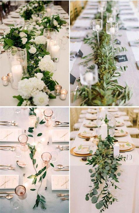 30 Verdure à petit budget # Mariage # Idées de décoration à ne pas manquer