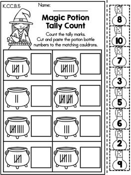 Halloween Math Worksheets Kindergarten Kindergarten Math Worksheets Tally Marks Kindergarten Kindergarten Worksheets Printable