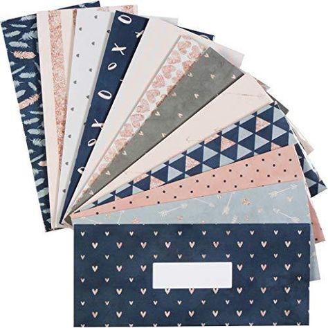 Budget Envelopes. Cash Envelope System for Cash Savings - Envelopes + Budget Sheets