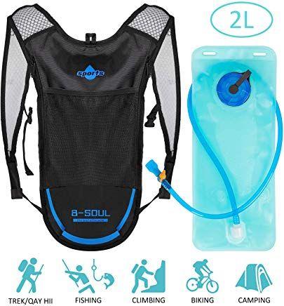 Shayson Trinkrucksack Hydrationspack Mit 2l Trinkblase