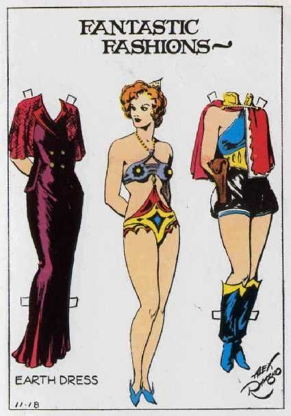 Fantastic Fashions Dale Arden Flash Gordon Paper Dolls
