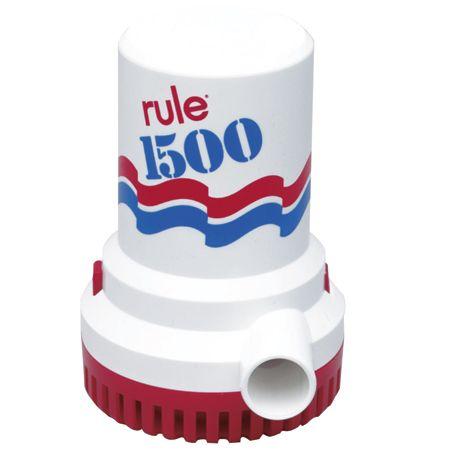 Rule Submersible Bilge Pump 02 1500 Gph Pumps Submersible Automatic