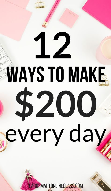 25 Ways to Make $200 Fast When You Need Money Now