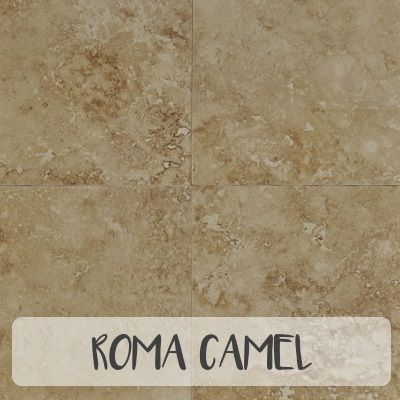 Roma Camel Glazed Porcelain 20x20