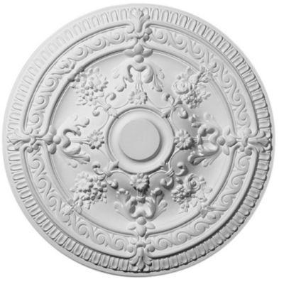 Rosace Polystyrene Elena O66 Cm Castorama Medaillons De Plafond Polystyrene Castorama
