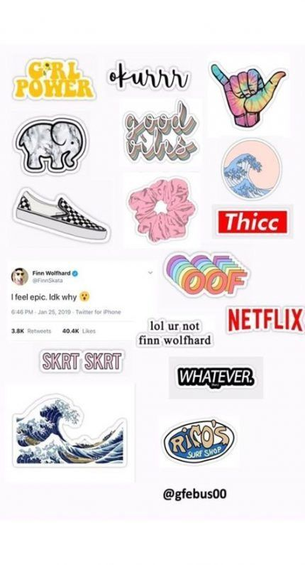 Pin By Adrienne On Tech Tumblr Stickers Sticker Template