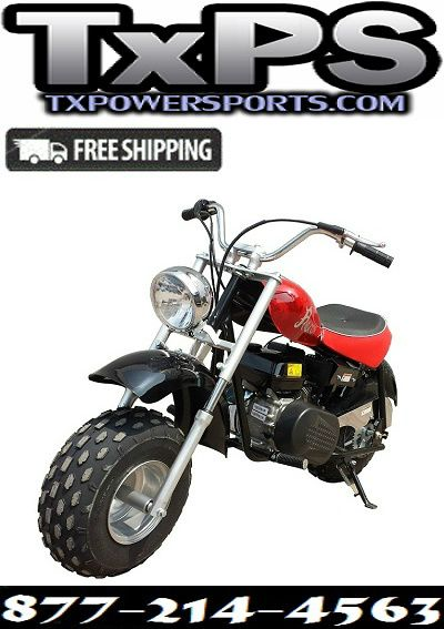 Ricky Power Sports Falcon 200cc Motorcycle Single Cylinder 4
