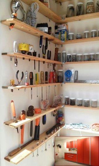 Garage Storage Monkey Bars And Pics Of Rubbermaid Fasttrack Garage Organization Kit Garage Garage Organisation Garage Organization Shelves Diy Garage Storage