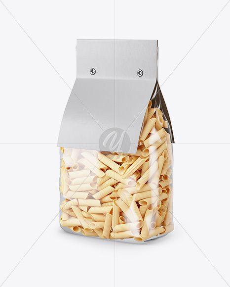 Download Pennette Rigate Pasta With Paper Label Mockup Half Side View In Bag Sack Mockups On Yellow Images Object Mockups Free Packaging Mockup Design Mockup Free Mockup Free Psd