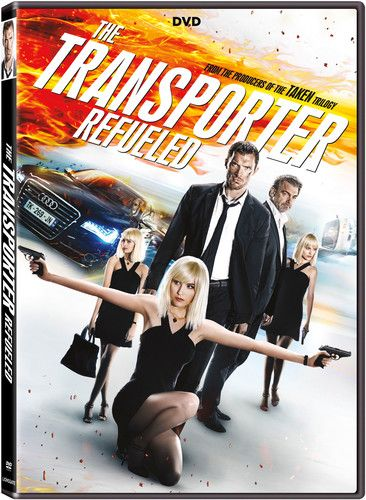 The Transporter Refueled Dvd 1080p Carga Explosiva E Hd 1080p