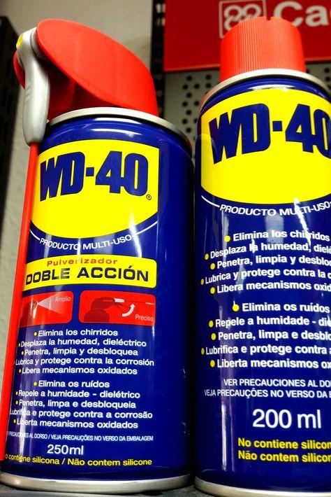 Spray Lubricante Multiuso Wd 40 Limpia Lubrica Protege Y
