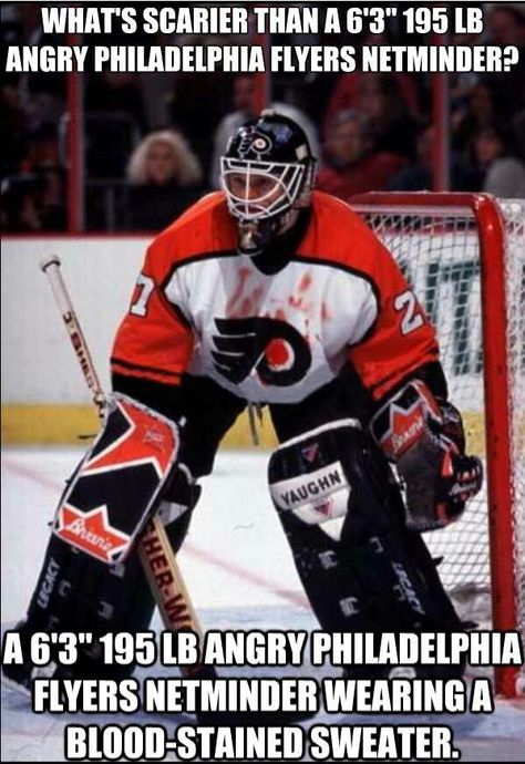 Funny Ice Hockey – Page 6 Hockey Rules, Flyers Hockey, Hockey Goalie, Hockey Players, Goalie Gear, Rangers Hockey, Hockey Girls, Hockey Mom, Hockey Stuff